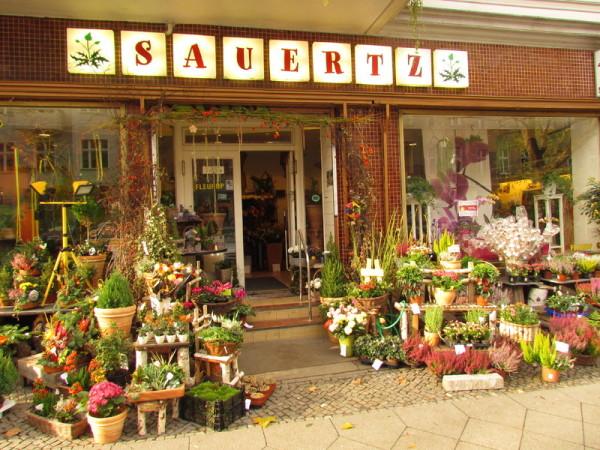 Blumenhaus Sauertz, Geschäft, Blumen