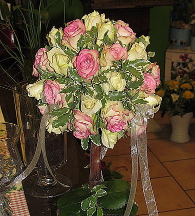 Brautstrauß, Hochzeit, Blumenhaus Sauertz Berlin